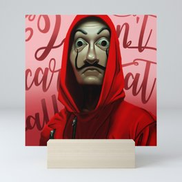 La Casa de Papel Mini Art Print