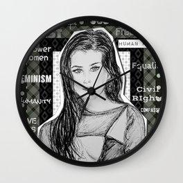 (Fifth Harmony - Lauren Jauregui) - yks by ofs珊 Wall Clock
