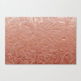Copper Jellyfish Canvas Print