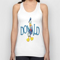 donald duck Tank Tops featuring Donald Duck by Maxvision