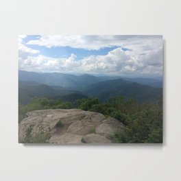 Sam's Knob, Shining Rock Wilderness Metal Print