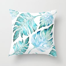 love tropical  Throw Pillow