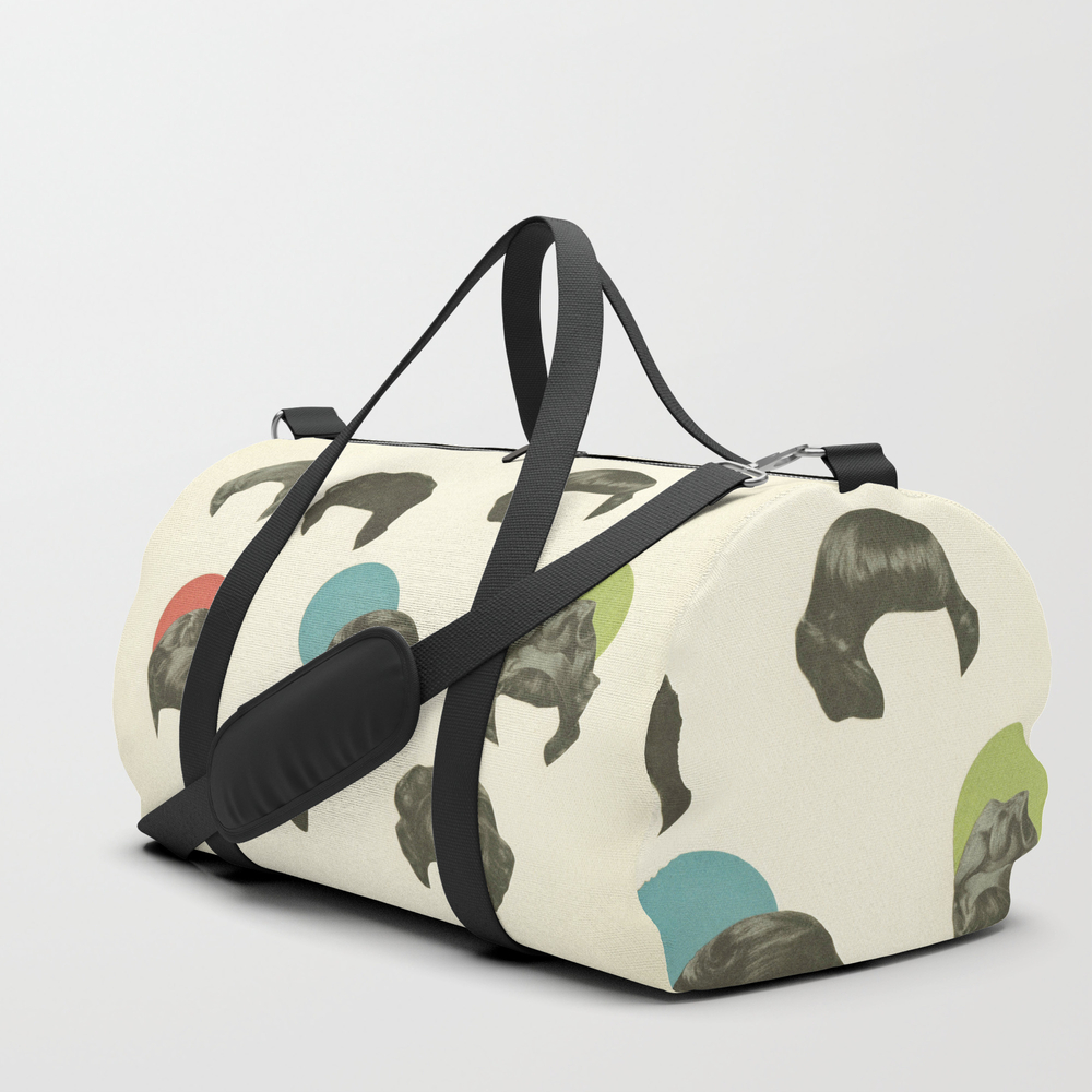Hair Today, Gone Tomorrow Duffle Bag by Cassiabeck DFL1236776