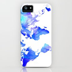 Watercolour World iPhone (5, 5s) Slim Case