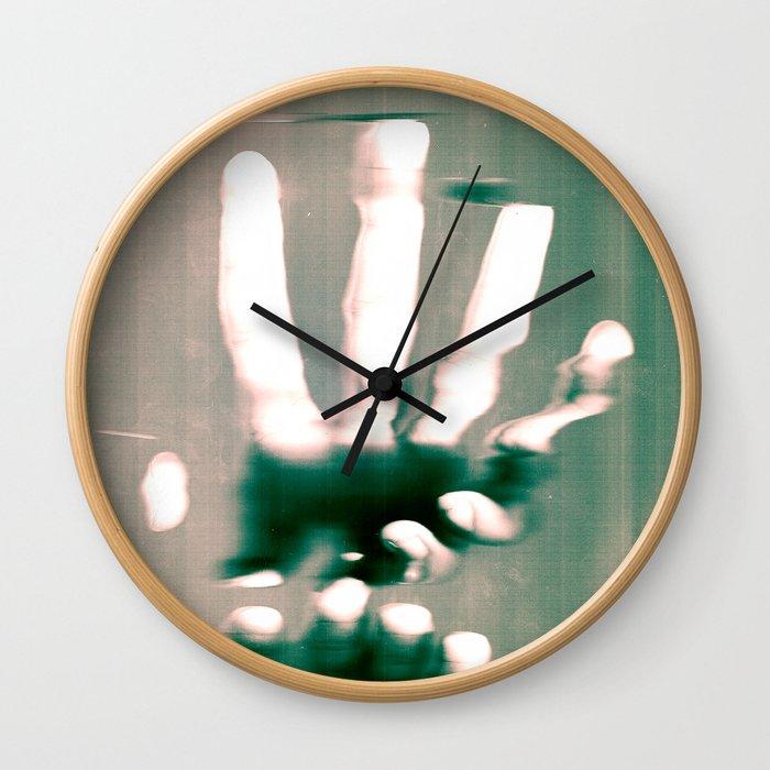 Grasps Wall Clock