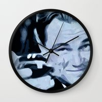 the great gatsby Wall Clocks featuring Great Gatsby by Instrum