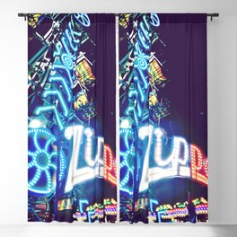 Zipper Carnival Ride Blackout Curtain
