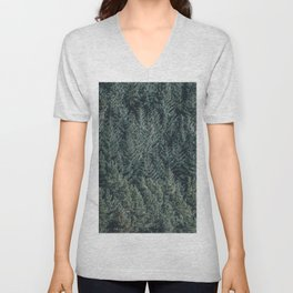 Green nature Unisex V-Neck