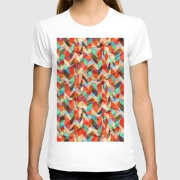 Abstract Chevron T-shirt