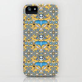 Gothic maiolica iPhone Case