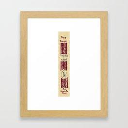 Three Guineas 1938 – Virginia Woolf First Edition Spine Framed Art Print