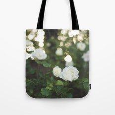 White Roses Tote Bag