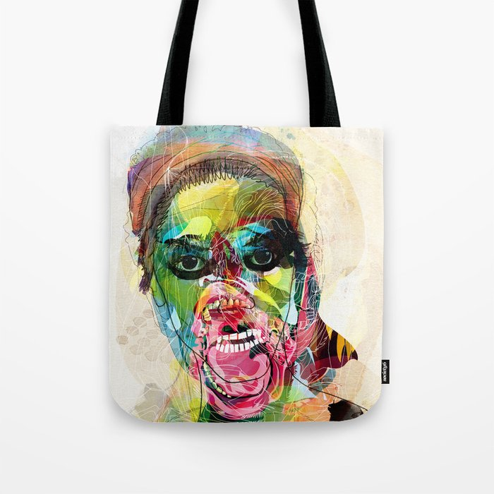 The human beast Tote Bag