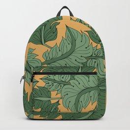 Foliage Yellow Backpack