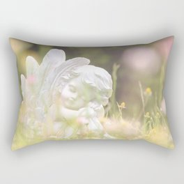 When #angels #dream Rectangular Pillow