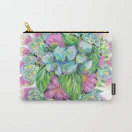 Spring Menagerie Carry-All Pouch