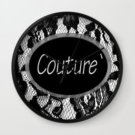 Fashion City: Couture Wall Clock