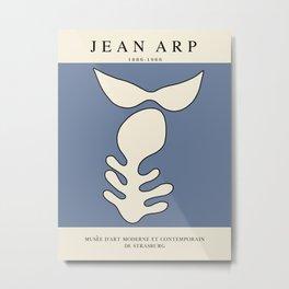 Modern poster - Jean Hans Arp - Exposition 4. Metal Print