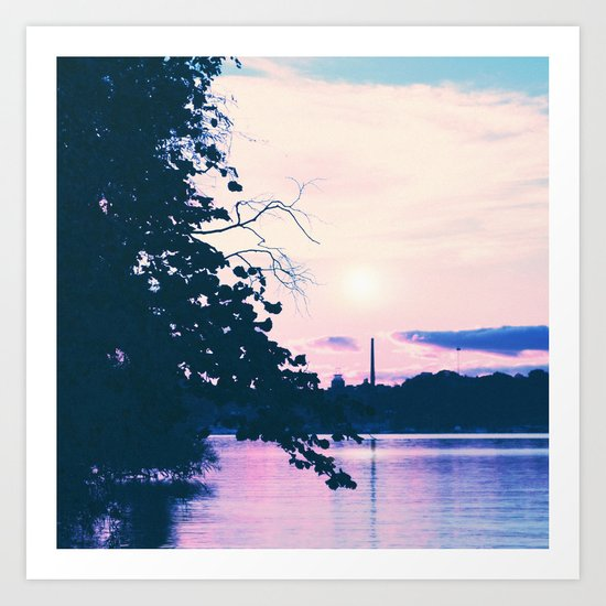 Pastel vibes 33 Art Print