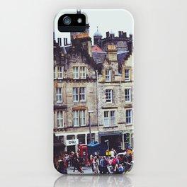 Edinburgh Scotland iPhone Case
