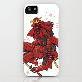 Samurai Jiu-Jitsu iPhone Case