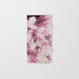 Flowers on the wall Hand & Bath Towel