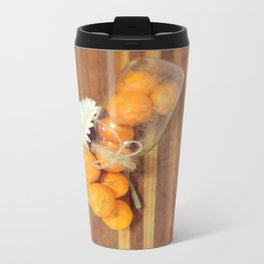Lacy Clementines Travel Mug