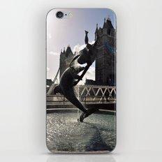 water dance iPhone & iPod Skin