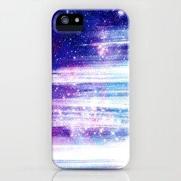 Streaks in Space iPhone Case