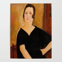 "Amedeo Modigliani ""Madame Amédée"" Poster"