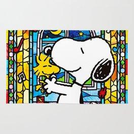 Snoopy art Rug