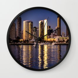 Through Coronado's Eyes Wall Clock