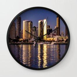 Through Coronado's Eyes Wall Clock