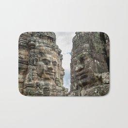 Bayon Temple, Angkor Thom, Cambodia Bath Mat