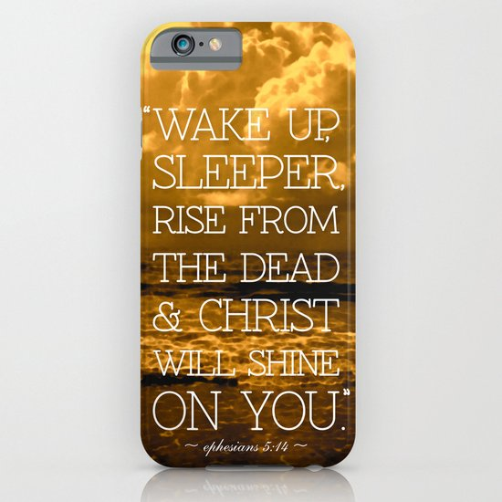 Wake Up Sleeper iPhone & iPod Case