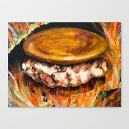 Battle of the Smore Canvas Print