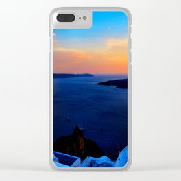 Santorini 26 Clear iPhone Case