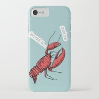 lobster iPhone & iPod Cases featuring lobster by mark ashkenazi