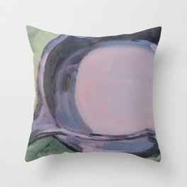 cast iron skillet Throw Pillow