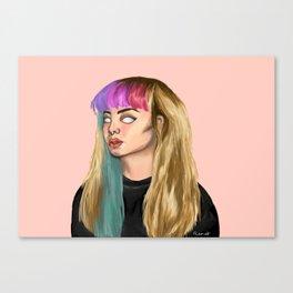 Disassociated Canvas Print