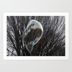 Living in a bubble Art Print