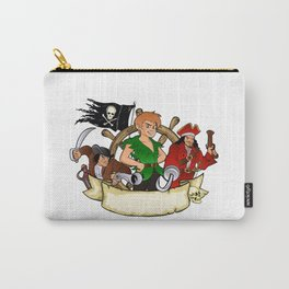 Peter Pan and the pirates emblem Carry-All Pouch