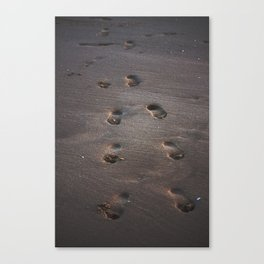 Burn In the Sand Canvas Print