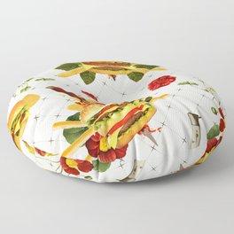 cheeseburger in gangstas paradise Floor Pillow