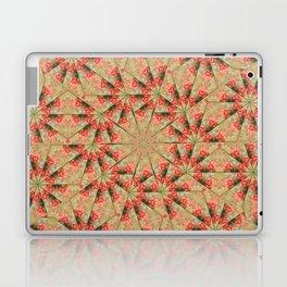 Beautiful day lily kaleidoscope Laptop & iPad Skin