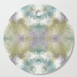 """Flowerbed"" triangles design Cutting Board"