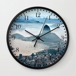 Rio de Janeiro, Brazil Wall Clock