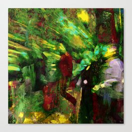 Melancholic walk Canvas Print