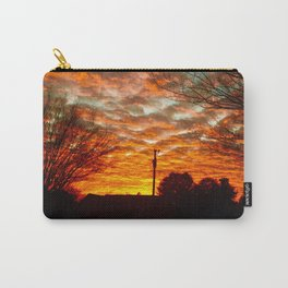 Pretty Florida Fiery Sunset Carry-All Pouch