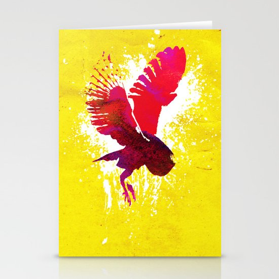 Natural Flight Stationery Cards